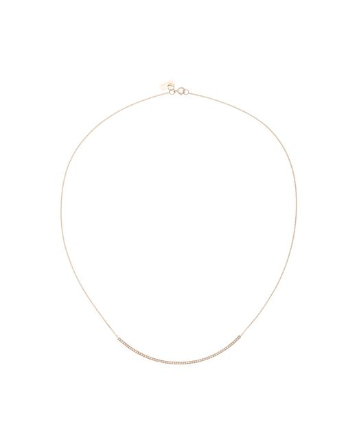 Vanrycke | Pink Officiel 18k Rose Gold Diamond Necklace | Lyst