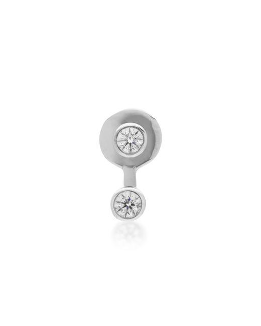 Vanrycke - Metallic Mademoiselle 18k White Gold Diamond Single Earring - Lyst