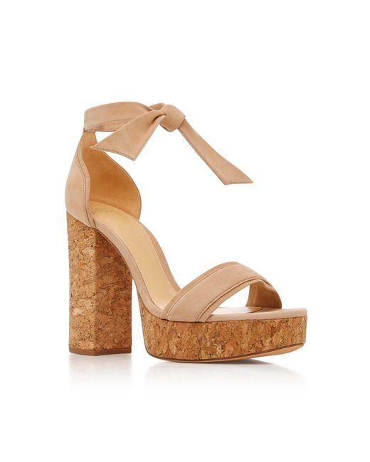 Celine Platform Suede Sandals Alexandre Birman qN2VR6pek