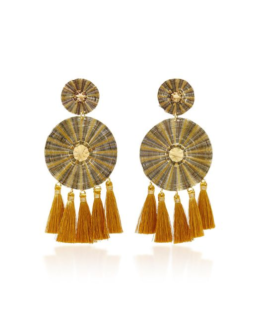 Mercedes Salazar | Metallic Yui Negro Earrings | Lyst