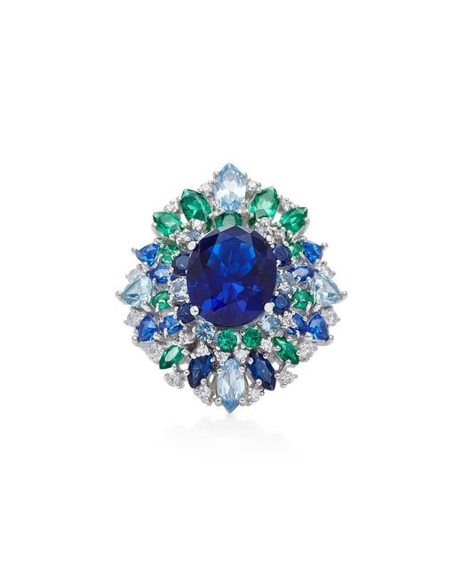 Anabela Chan | Blue M'o Exclusive Sapphire Mirage Ring | Lyst