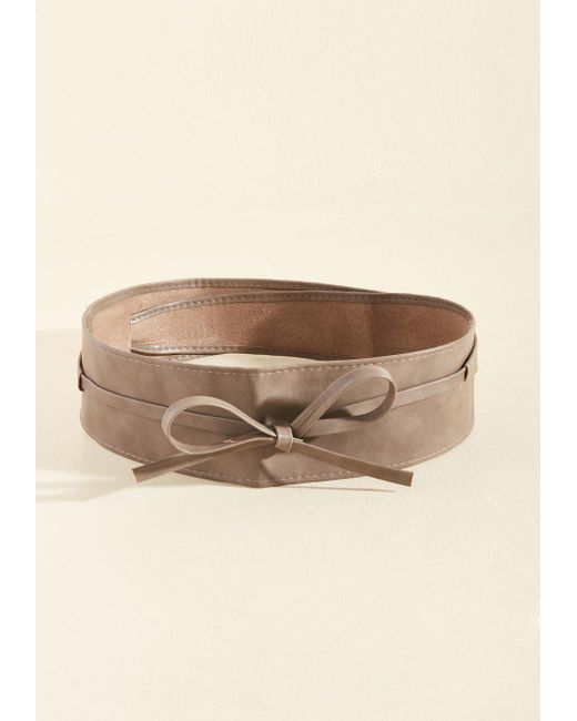 ModCloth - Brown Sash Samba Belt - Lyst ... 8fb8e2e41
