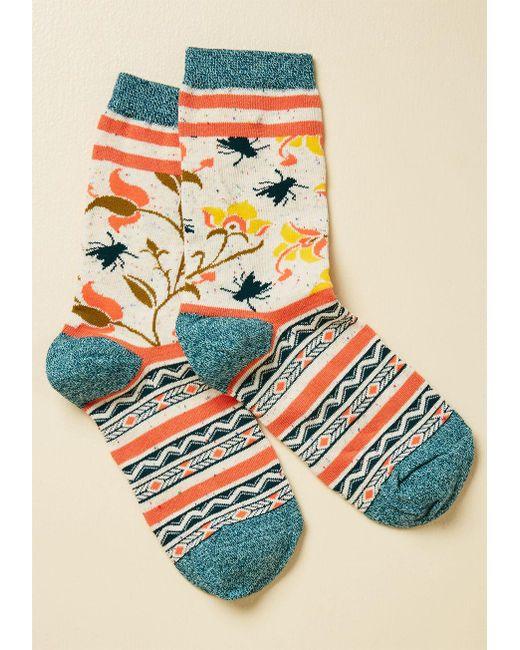 ModCloth - Multicolor Bug And Plead Socks - Lyst