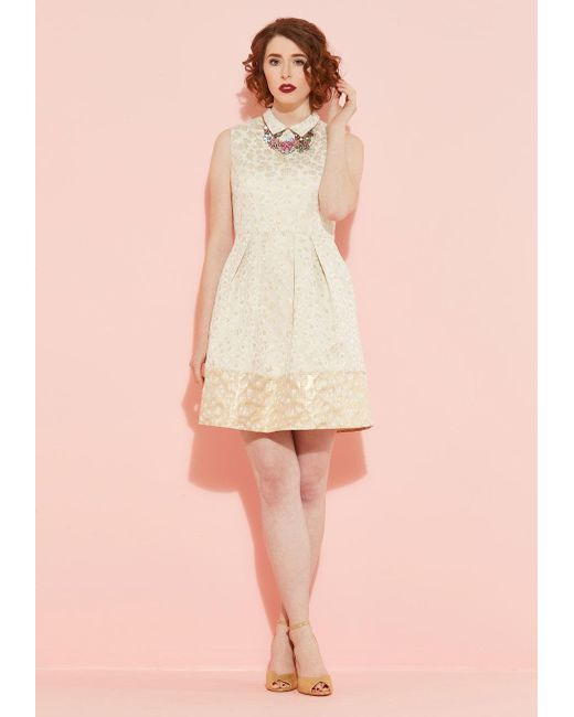 Erin Fetherston Natural Ont Event Dress Lyst