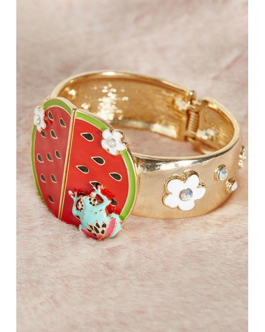 Irregular Choice - Multicolor Slice Of Sweetness Bracelet By From Modcloth - Lyst