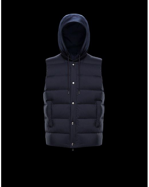 9bc8e7541 Lyst - Moncler Soursac in Blue for Men