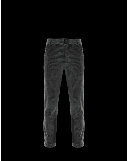 bc7bba625 Moncler Grenoble Casual Trouser in Gray for Men - Lyst