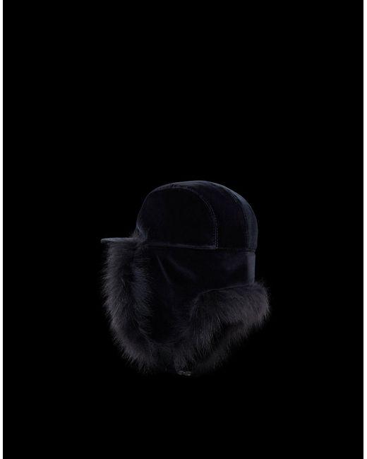c4244e30446 ... Moncler - Black Hat - Lyst ...