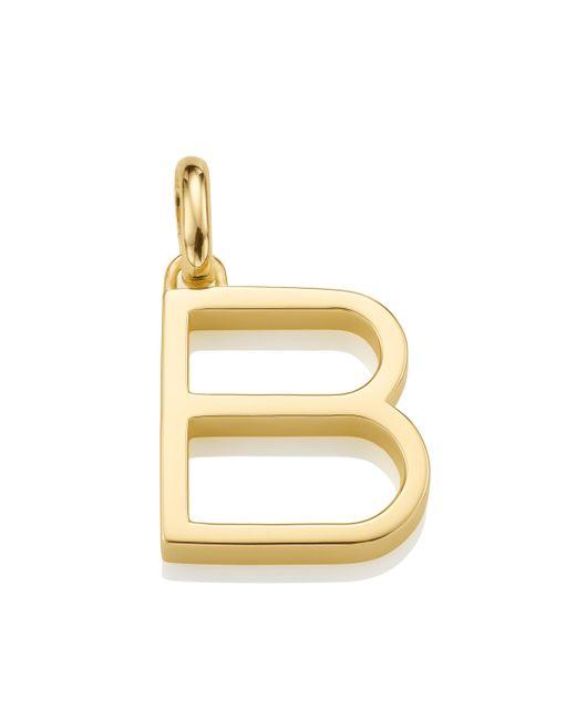 Monica Vinader Metallic Alphabet B Pendant Charm