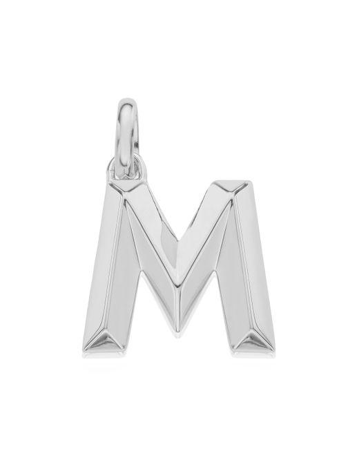 Monica Vinader | Metallic Alphabet Pendant M | Lyst