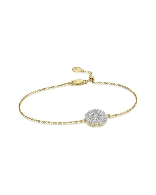 Monica Vinader   Metallic Ava Disc Bracelet   Lyst