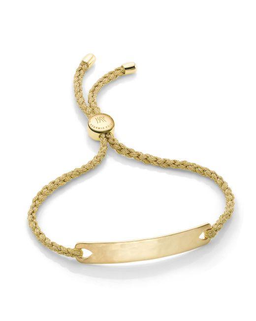 Monica Vinader   Metallic Linear Friendship Bracelet   Lyst