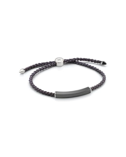 Monica Vinader | Gray Linear Men's Stone Bracelet for Men | Lyst