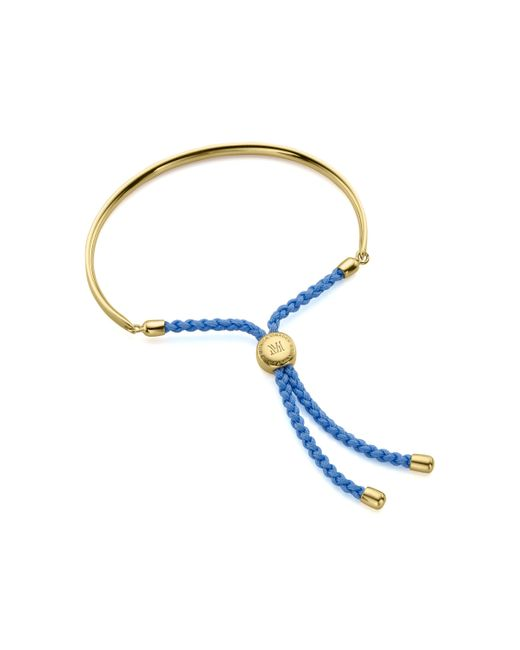 Monica Vinader   Blue Fiji Friendship Petite Bracelet   Lyst