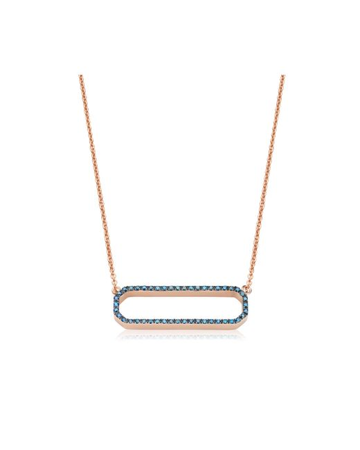Monica Vinader | Multicolor Naida Rectangle Open Necklace | Lyst