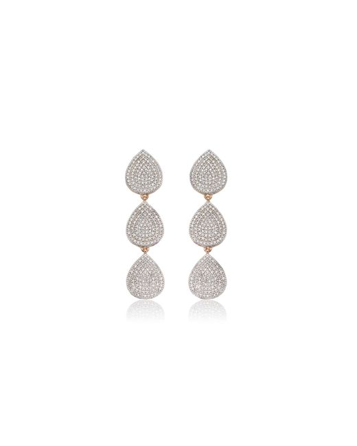 Monica Vinader | Pink Alma Cocktail Earrings | Lyst