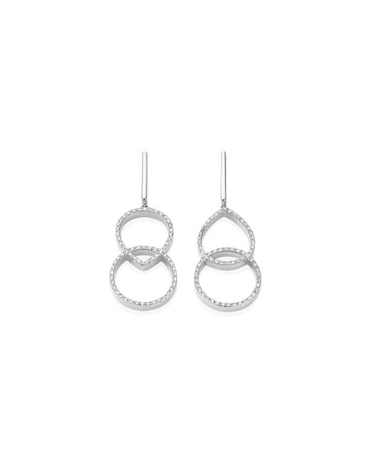 Monica Vinader   Metallic Naida Kiss Open Cocktail Earrings   Lyst