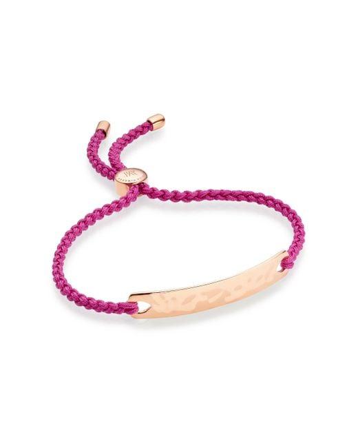 Monica Vinader | Purple Havana Friendship Bracelet | Lyst