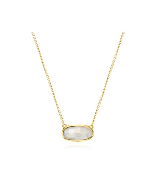 Monica Vinader | Metallic Vega Necklace | Lyst