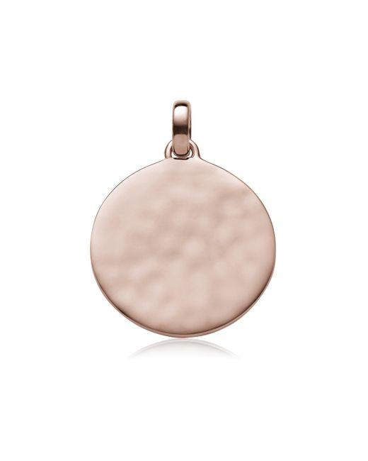 Monica Vinader | Pink Siren Medium Round Pendant | Lyst