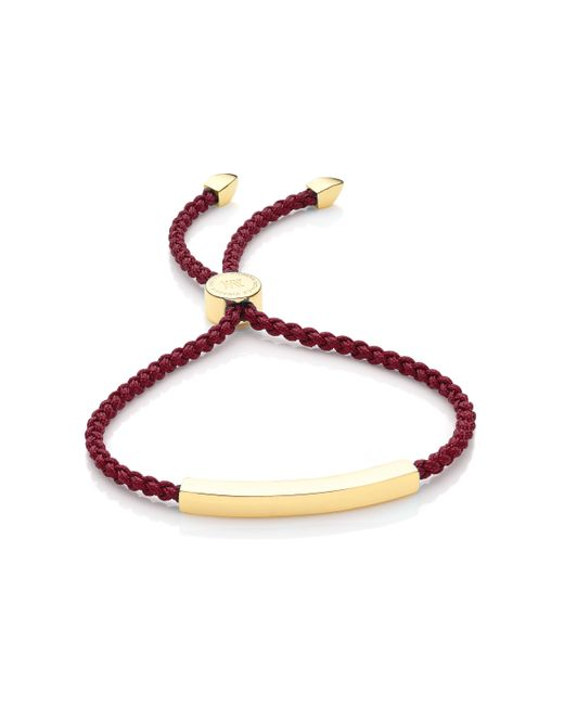 Monica Vinader | Purple Linear Friendship Bracelet | Lyst