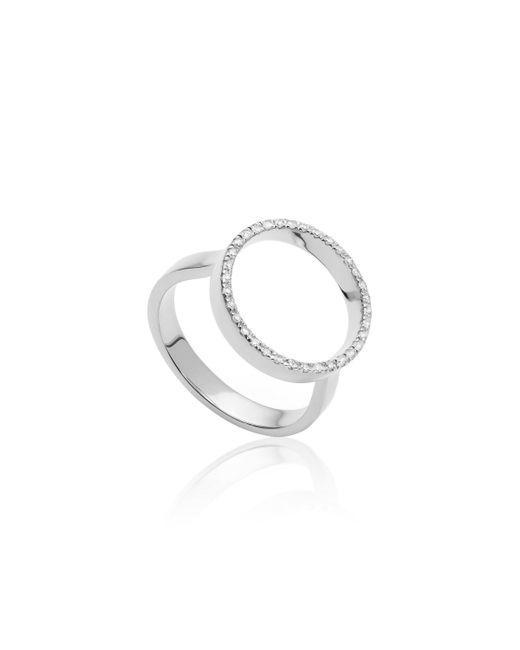 Monica Vinader - Metallic Naida Circle Open Ring - Lyst