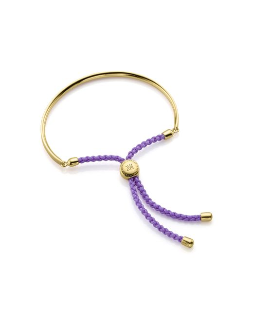 Monica Vinader - Blue Fiji Friendship Bracelet - Lyst