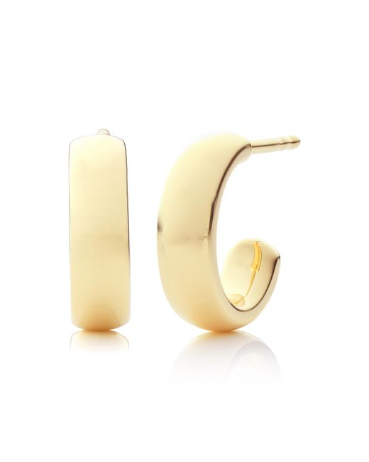 Monica Vinader - Metallic Fiji Mini Hoop Earrings - Lyst