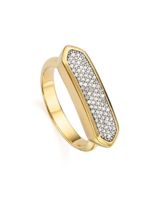 Monica Vinader - Metallic Baja Diamond Ring - Lyst