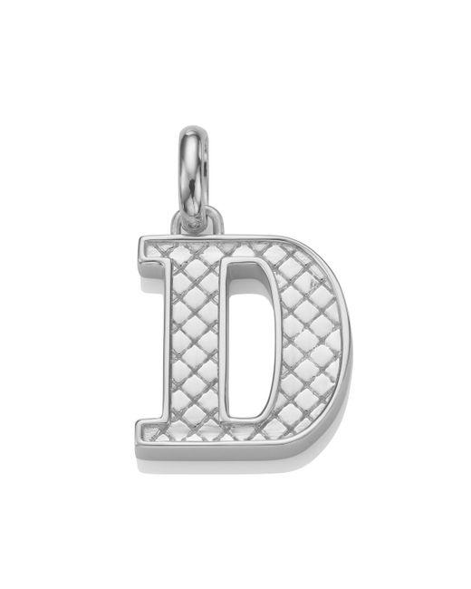 Monica Vinader - Metallic Alphabet D Pendant Charm - Lyst