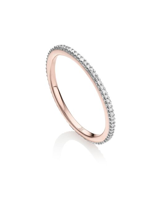 Monica Vinader - Metallic Skinny Eternity Ring - Lyst