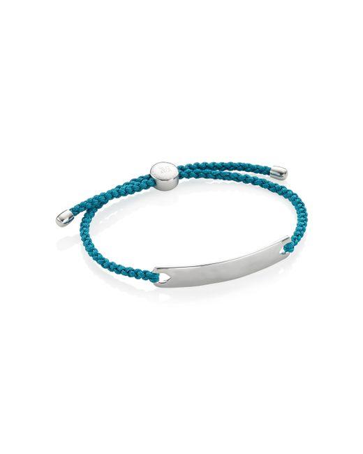 Monica Vinader - Blue Havana Men's Friendship Bracelet for Men - Lyst