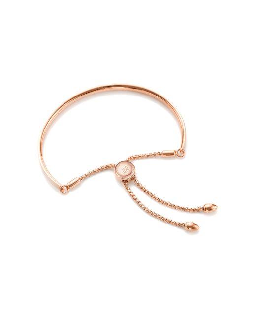 Monica Vinader - Metallic Fiji Friendship Petite Chain Bracelet - Lyst