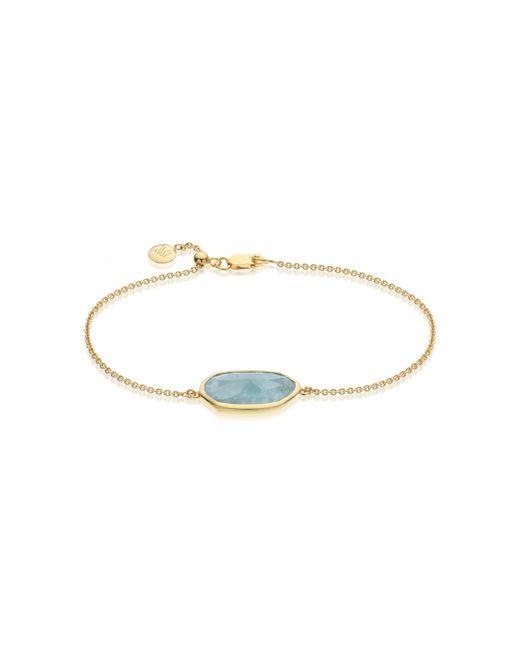 Monica Vinader | Metallic Capri Chain Bracelet | Lyst