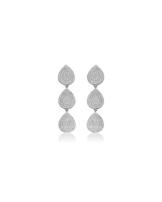 Monica Vinader | Metallic Alma Cocktail Earrings | Lyst