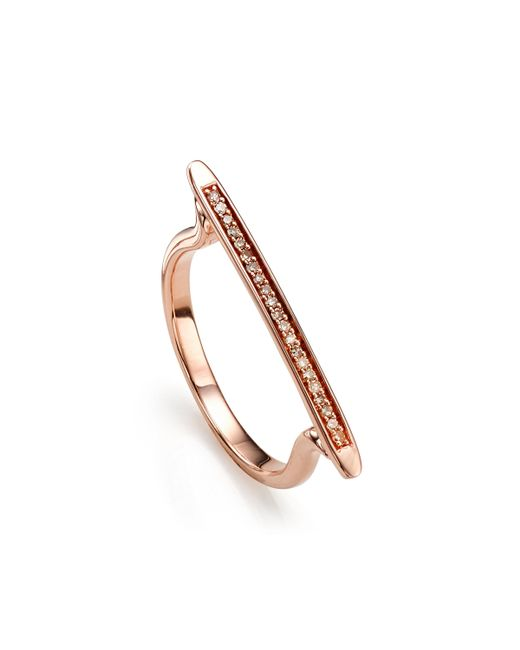 Monica Vinader | Multicolor Skinny Stacking Ring | Lyst