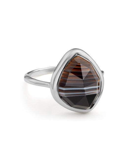 Monica Vinader | Metallic Siren Nugget Stacking Ring | Lyst