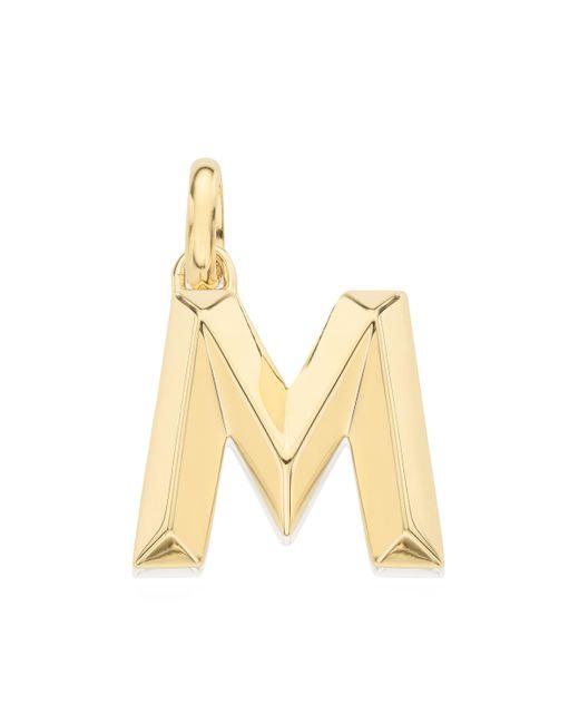 Monica Vinader - Metallic Alphabet M Pendant Charm - Lyst