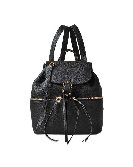 Ferragamo | Black Carol Backpack | Lyst