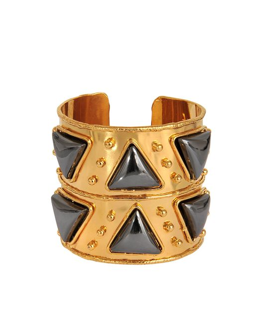 Sylvia Toledano   Metallic Triangles Cuff   Lyst