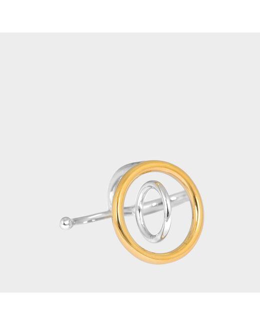 Charlotte Chesnais - Metallic Saturn Ring - Lyst