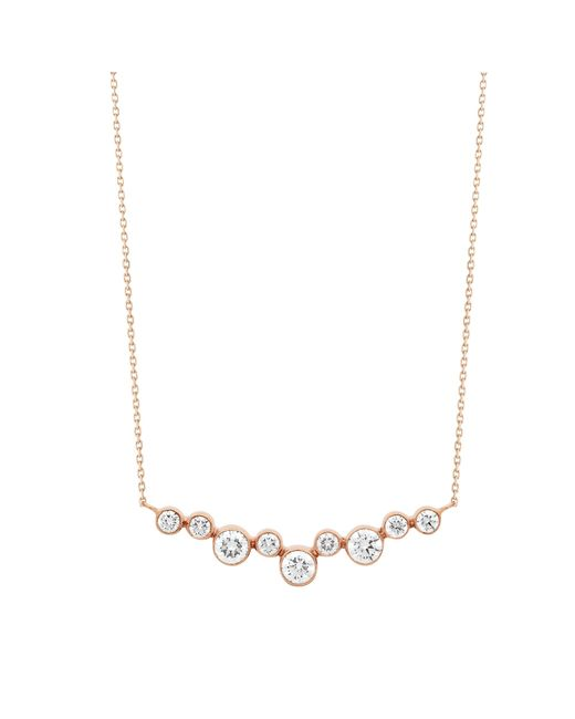Vanrycke | Metallic Sakura Necklace 750‰ Gold And Diamonds | Lyst