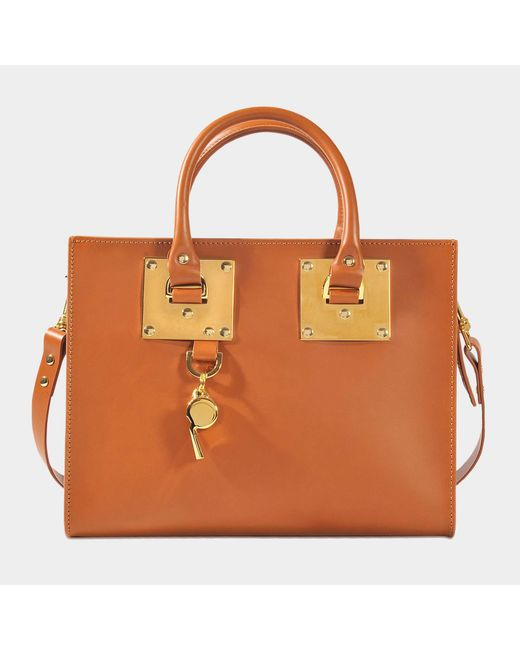 Sophie Hulme - Brown Albion Medium Box Tote Bag - Lyst
