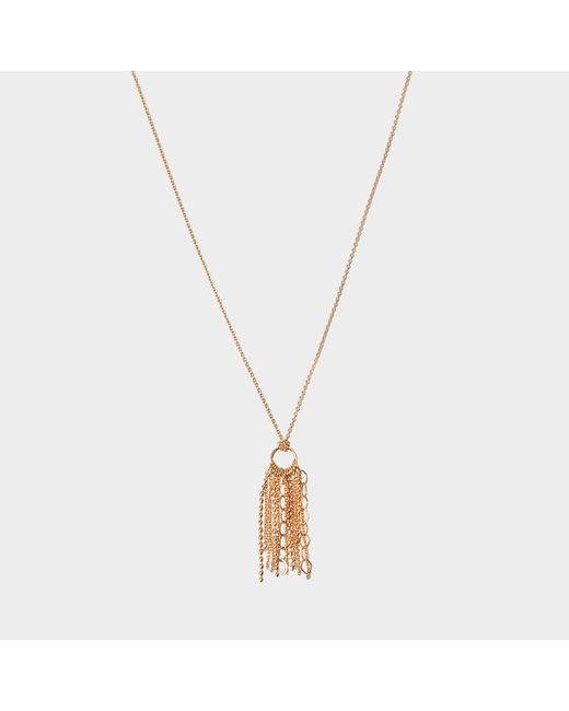 Ginette NY - Metallic Diamond Ever Square Necklace - Lyst