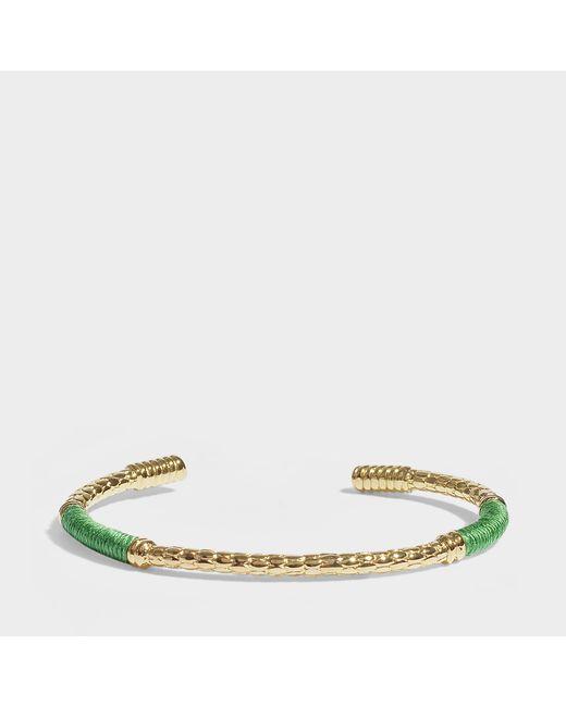 Aurelie Bidermann - Soho Bracelet In Green - Lyst