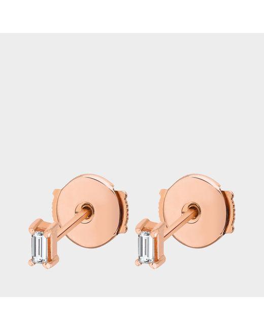 Vanrycke - Metallic Georgia Earring In Gold And Diamonds - Lyst