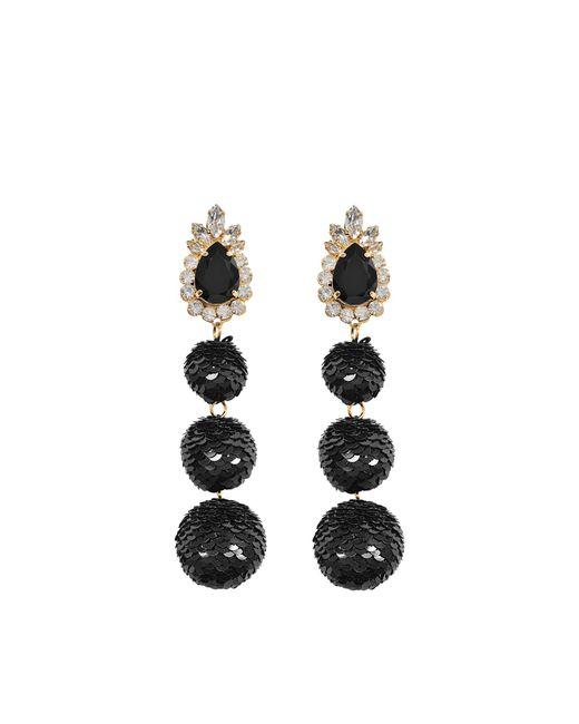 Shourouk | Black Disco Earrings | Lyst