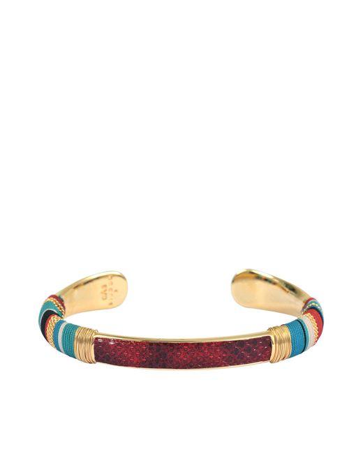 Gas Bijoux | Multicolor Python Bracelet Massai O | Lyst