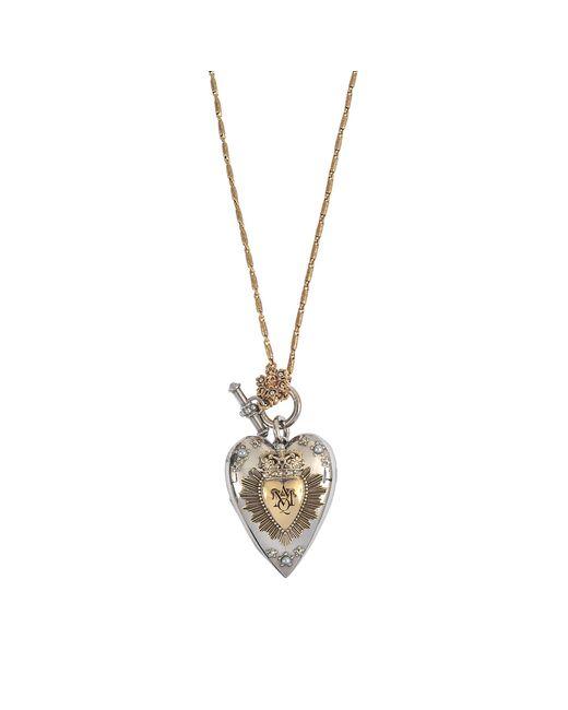 Alexander McQueen | Multicolor Heart Necklace | Lyst