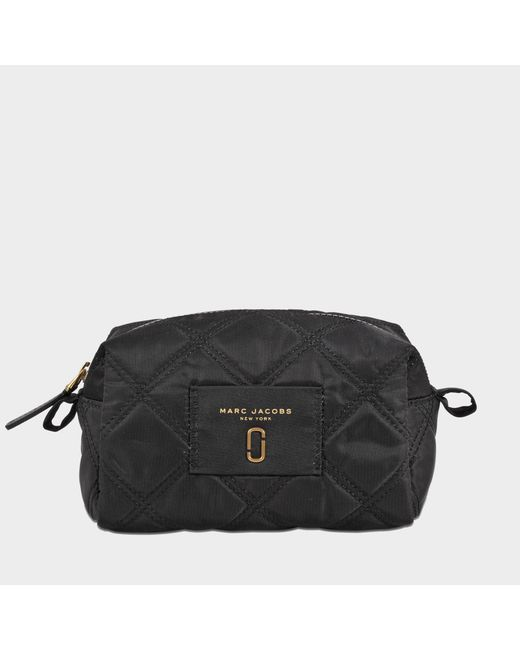 Marc Jacobs - Black Nylon Knot Large Cosmetic Pouch - Lyst